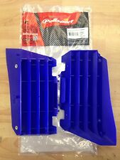 YAMAHA YZF 250 YZF250 2014-2017  POLISPORT RADIATOR LOUVRES RAD GUARDS BLUE