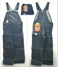 Vintage Nos Key Imperial 12oz Denim Made in Usa Western Blue Overalls 32x29