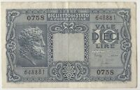 1944 Italy 10 Lire Bank Note | Pennies2Pounds (ITA2)