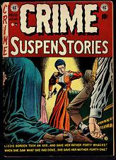 1952 EC Crime Suspenstories #13 GD-