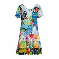 Jams World Hattie Dress Tropical Love Hawaiian Sundress XL USA Made