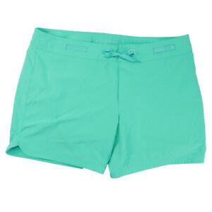 prAna recycled polyester board shorts green swim quick drywomens XL