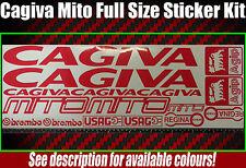 Cagiva mito motorbike graphics stickers single colours see description sp evo