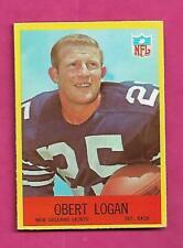 1967 PHILADELPHIA  # 126 SAINTS OBERT LOGAN ROOKIE CARD (INV# C0981)
