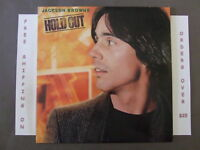 """JACKSON BROWNE HOLD OUT LP W/ LYRIC SLEEVE """"THAT GIRL COULD SING"""" 5E-511"""