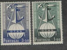 Portugal, Scott# 747-48, Mint Very Light Hinge