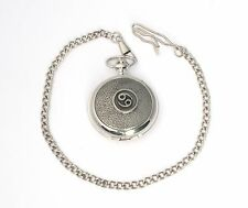 Cancer Pocket Watch Zodiac Sign Gift Boxed FREE ENGRAVING
