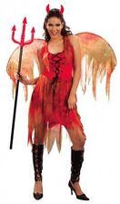 LADIES DEVIL FAIRY FANCY DRESS COSTUME LADY SIZE 12-14 REDUCED HALLOWEEN