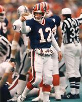 Buffalo Bills JIM KELLY Glossy 8x10 Photo NFL Football Print Poster
