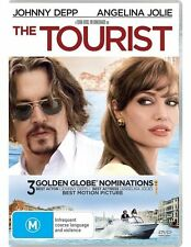 THE TOURIST (DVD, R4) - Angelina Jolie, Johnny Depp