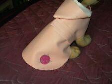 imper chien (manteau) simili rose 35/40cm  creation