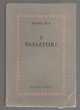 Cesarina Rossi - I PASSATORI - 1° ED.1956