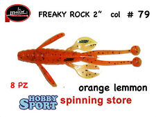FREAKY ROCK  MOLIX COLORE #79 ORANGE LEMMON ULTRA LIGHT SPINNING CONF 8PZ