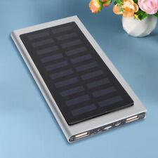Caricabatterie Solare Power bank 10000mAh Batteria esterna con Pannello Solare