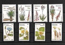 FLORES / FLOWERS - BOTSWANA - 1975-1981, MNH sets