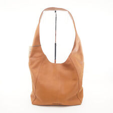 Lucky BRAND Patti Dark Camel Leather Large Shoulder Hobo Bag