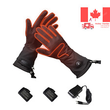 Heated Gloves Liners for Men and Women Electric Rechargeable Gloves Heated Th...