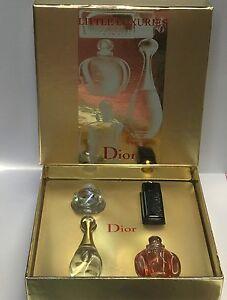 CHRISTIAN DIOR PERFUME ( j'adore, Dior Addict, Pure Poison, Dune ) 4PC SET...new