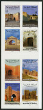 Morocco 2018 MNH City Gates 8v S/A Booklet Tourism Architecture Stamps