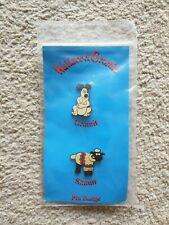 Wallace And Gromit - Gromit & Shaun Pin Badge 1989