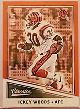 Ickey Woods 2017 Panini Classics Timeless Tributes Legends Card #144 4/25