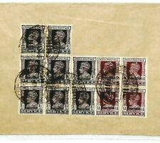 India PAKISTAN Overprints Karachi GB London Cover 1948 {samwells-covers} CW306