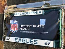1 Philadelphia Eagles Dark Green Metal Vehicle License Plate Frame