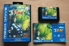 Earthworm Jim - European PAL (Eng, Ger, Fr, Sp, Ital) - Mega Drive