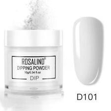 womens professional plain colour nail false fake dipping powders