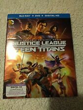 Justice League vs Teen Titans (Blu-ray) Dc Universe, w/ slip cover