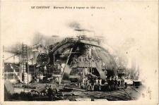 CPA  Le Creusot - Marteau Pilon á vapeur de 100 tonnes  (637987)