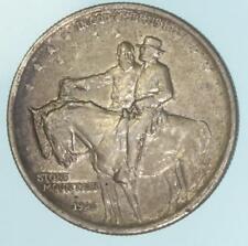 1925 Stone Mountain Commemorative Half Dollar US 90% Silver Coin Lot B102