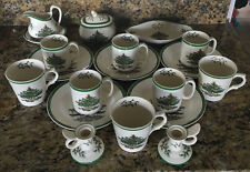 18pc Set of Spode Christmas Tree S 3224 M Dishes