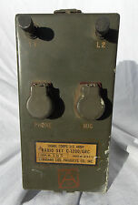 Korean War US Army Signal Corps Artillery Talker  Radio Set Type C-1200/GRC