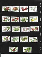 DOMINICA 1981 UNMOUNTED MINT SET OF 18 VAUES