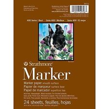 Strathmore Strathmore Marker Paper Pad, Multi-Colour, 6 x 8-Inch