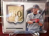 2019 TOPPS UPDATE JIM THOME150 YEAR COMMEMORATIVE MEDALLION CLEVELAND INDIANS