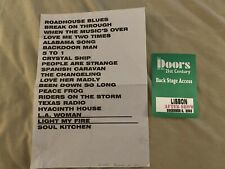 The Doors of the 21st Century Manzarek Krieger concert lot D21c