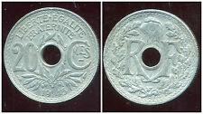 20 centimes  ZINC LINDAUER   1945   ( TTB + )  ( bis )