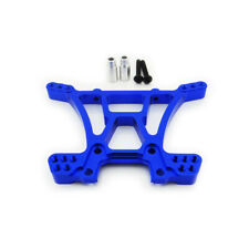 Traxxas Slash 4X4 1:10 Alloy Rear Shock Tower, Blue by Atomik RC - Replaces 6838