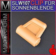 NEU 1x Mercedes SL W107 R107 CLIP SONNENBLENDE DATTEL 560SL 300SL 380SL 280SL