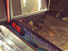 AC/DC ACDC Stern Pinball Lighted Magnetic Hinge Covers EL Panel MOD- RED