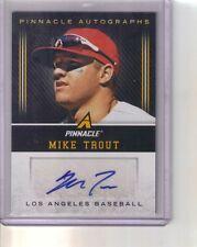 2013 Panini Pinnacle Autographs Mike Trout Auto Autograph SSP???