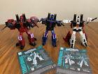 Transformers WFC Earthrise Thrust, Dirge, Ramjet