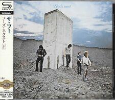 THE WHO WHO'S NEXT 2011 JAPAN SHM RMST CD+7 BONUS TRAX  BRAND NEW FACTORY SEALED