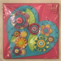 Papyrus Greeting Card Mother's Day New in packaging - Mom Love Heart Buttons
