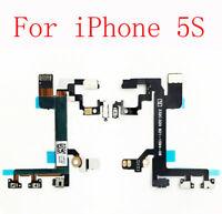 For iPhone 5S Power Sleep Volume Mute Switch Side Button Flex Cable Replacement