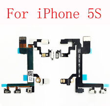 For iPhone 5S Power Mute Volume Button Switch Replacement Flex Cable