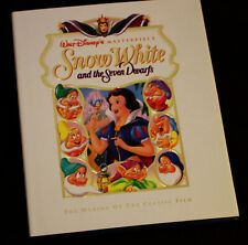 Walt Disney Snow White and the Seven Dwarfs Book Making of Animation History