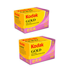2 Rolls Kodak Gold 200 35mm 135-36 Color Negative Film Fresh 10/2019